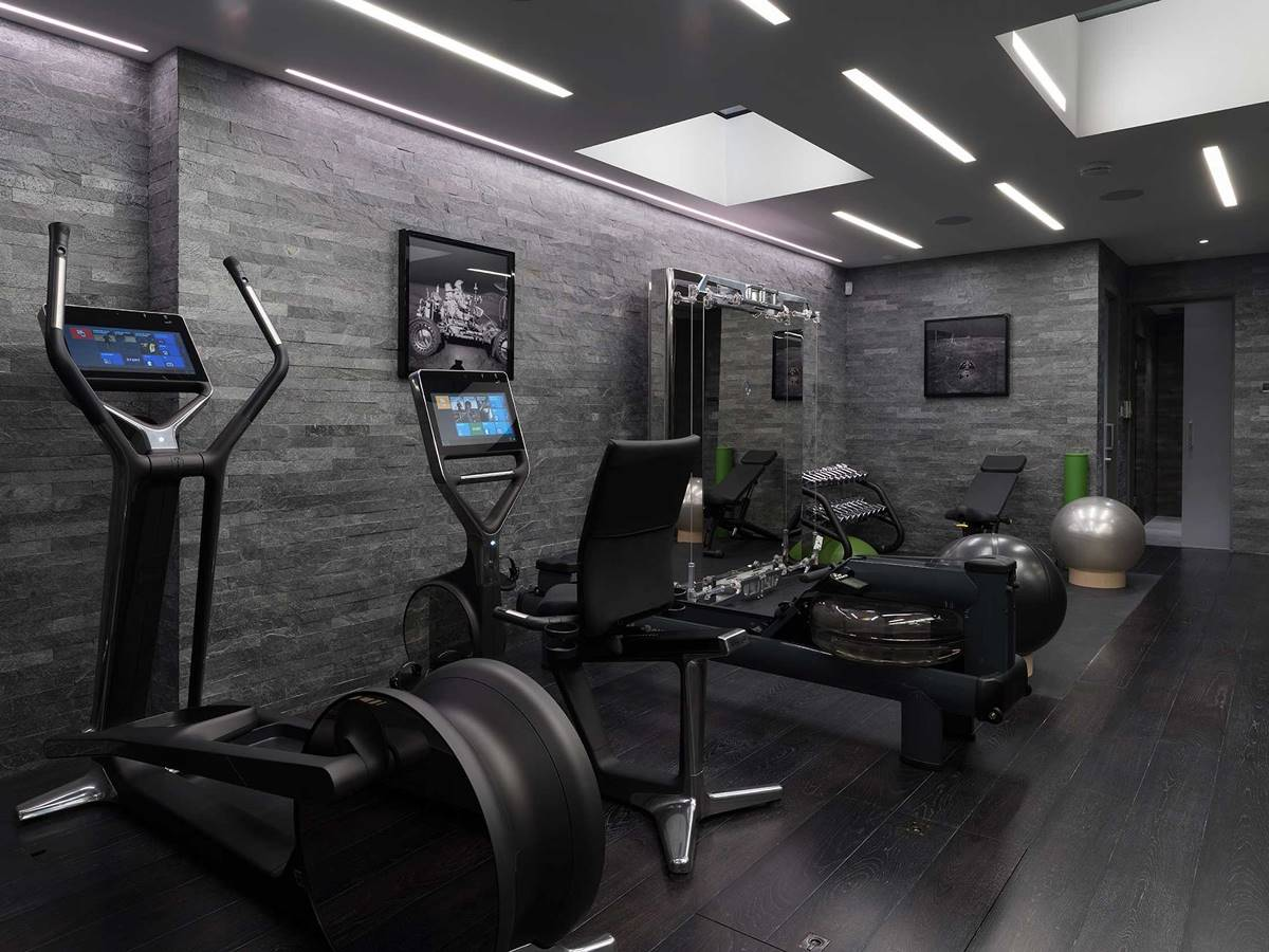 Renovate the basement to build a home gym toss