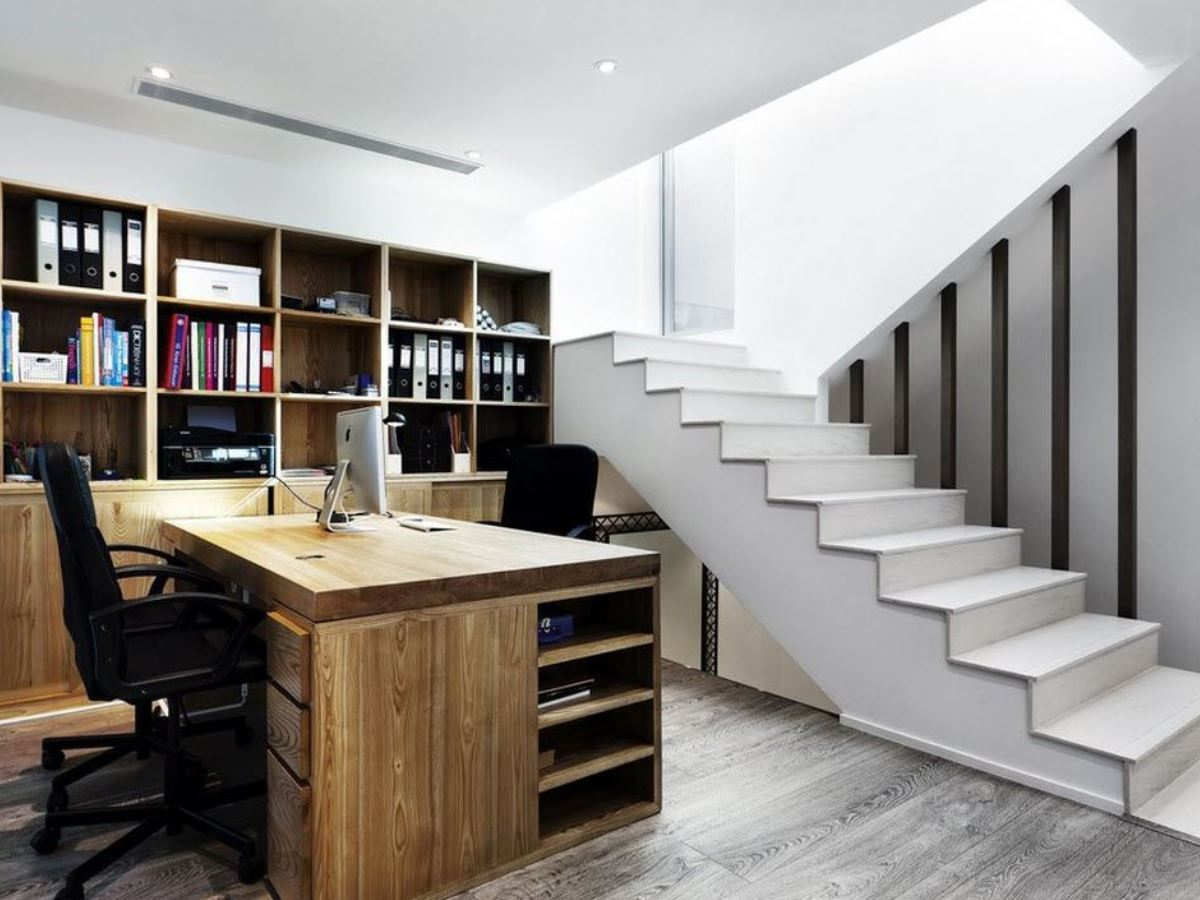 Home Office in the Basement: A Private Workspace in your Home