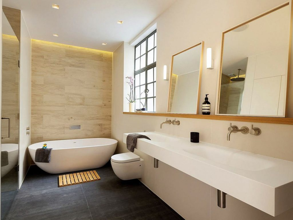 Pleasant Bathroom Renovations Gallery Recent Bathroom Reno Projects Home Interior And Landscaping Elinuenasavecom